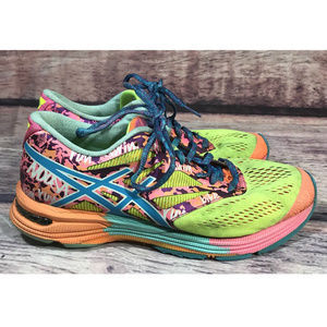 Asics Gel Noosa Tri Sneakers Women's Size 7 Neon